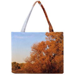 Beautiful Autumn Day Tiny Tote Bags by trendistuff