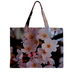 Sakura Zipper Tiny Tote Bags by trendistuff