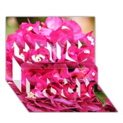 BOUGAINVILLEA You Rock 3D Greeting Card (7x5)