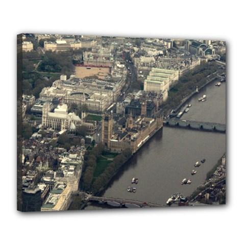 London Canvas 20  X 16  by trendistuff