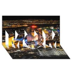 Las Vegas 1 Mom 3d Greeting Card (8x4)  by trendistuff
