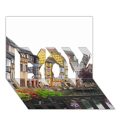 Colmar France Boy 3d Greeting Card (7x5) by trendistuff
