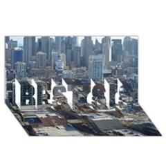 Chicago Best Sis 3d Greeting Card (8x4)  by trendistuff