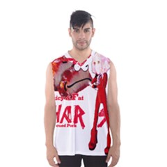 Michael Andrew Law s Mal Girl & Mr Bbq Pork Men s Basketball Tank Top