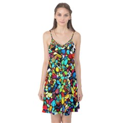 Colorful Stones, Nature Camis Nightgown by Costasonlineshop