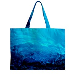 MENDENHALL ICE CAVES 3 Zipper Tiny Tote Bags by trendistuff
