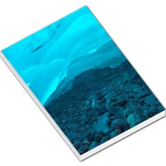 Mendenhall Ice Caves 1 Large Memo Pads by trendistuff