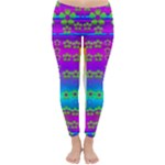 Peace And Groovy Winter Leggings