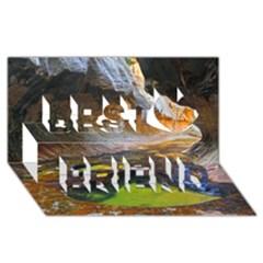 Left Fork Creek Best Friends 3d Greeting Card (8x4)  by trendistuff