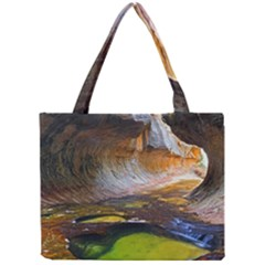 Left Fork Creek Tiny Tote Bags by trendistuff