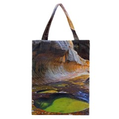 Left Fork Creek Classic Tote Bags by trendistuff