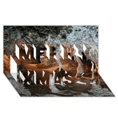 Jenolan Imperial Cave Merry Xmas 3d Greeting Card (8x4)  by trendistuff
