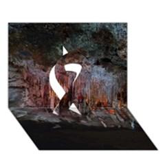CAVES OF DRACH Ribbon 3D Greeting Card (7x5)  by trendistuff