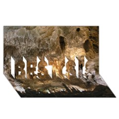 Carlsbad Caverns Best Sis 3d Greeting Card (8x4)  by trendistuff