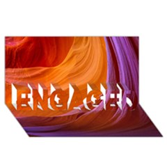 Antelope Canyon 2m Engaged 3d Greeting Card (8x4)  by trendistuff