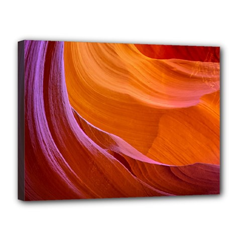 Antelope Canyon 2 Canvas 16  X 12  by trendistuff
