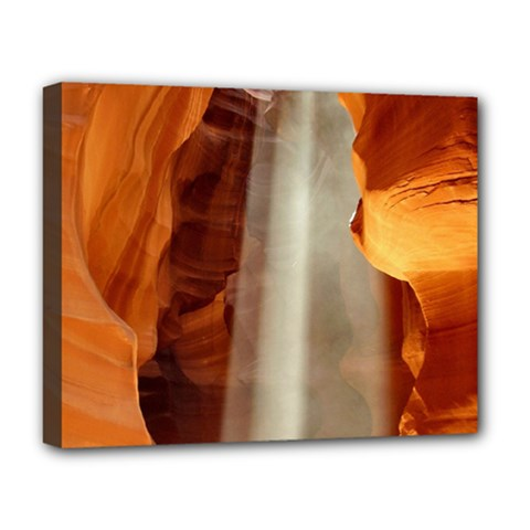 Antelope Canyon 1 Deluxe Canvas 20  X 16   by trendistuff
