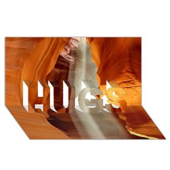 Antelope Canyon 1 Hugs 3d Greeting Card (8x4)  by trendistuff