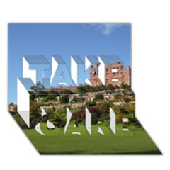 Powis Castle Terraces Take Care 3d Greeting Card (7x5)  by trendistuff