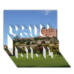 Powis Castle Terraces You Did It 3d Greeting Card (7x5) by trendistuff