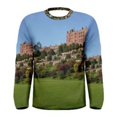 Powis Castle Terraces Men s Long Sleeve T Shirts by trendistuff