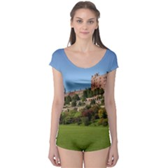 Powis Castle Terraces Short Sleeve Leotard by trendistuff