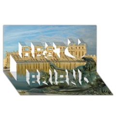 Palace Of Versailles 1 Best Friends 3d Greeting Card (8x4)  by trendistuff