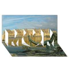 Palace Of Versailles 1 Mom 3d Greeting Card (8x4)  by trendistuff