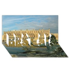 Palace Of Versailles 1 Best Sis 3d Greeting Card (8x4)  by trendistuff