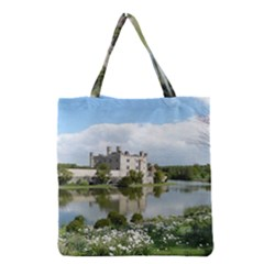 Leeds Castle Grocery Tote Bags by trendistuff