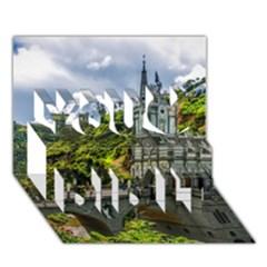 Las Lajas Sanctuary 1 You Did It 3d Greeting Card (7x5) by trendistuff