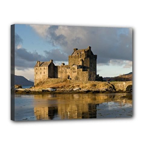 Eilean Donan Castle Canvas 16  X 12  by trendistuff