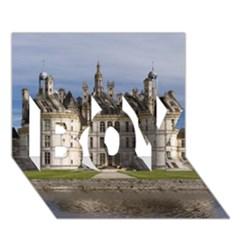 Chambord Castle Boy 3d Greeting Card (7x5) by trendistuff