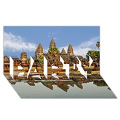 Angkor Wat Party 3d Greeting Card (8x4)  by trendistuff