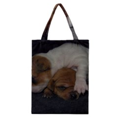 Adorable Baby Puppies Classic Tote Bags by trendistuff