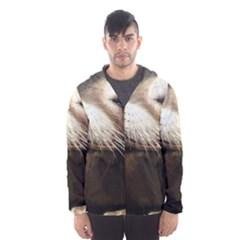 CUTE SEA LION Hooded Wind Breaker (Men) by trendistuff