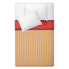 Stripes And Chevrons  Duvet Cover (single Size) by LalyLauraFLM