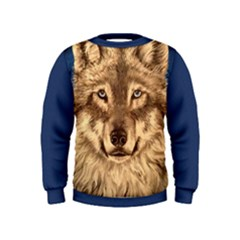 Wolf Kid s Sweatshirt by ArtByThree