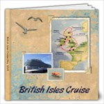 British Isles Trip - 12x12 Photo Book (20 pages)