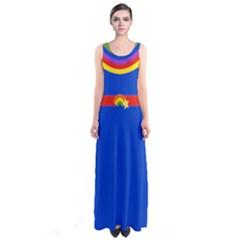 Rainbow Full Print Maxi Dress by Ellador
