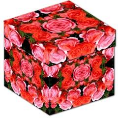 Beautiful Red Roses Storage Stool 12   by Costasonlineshop