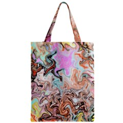 Distortedbeauty Zipper Classic Tote Bags by theunrulyartist