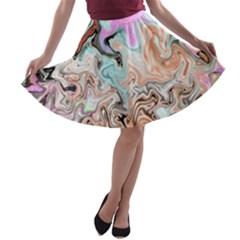 Distortedbeauty A Line Skater Skirt
