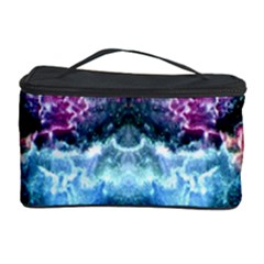 Space Cosmos Black Blue White Red Cosmetic Storage Cases by Costasonlineshop