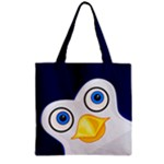 Penguin - Zipper Grocery Tote Bag