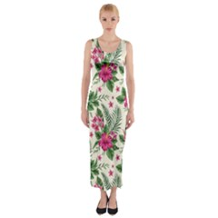 Fitted Maxi Dress