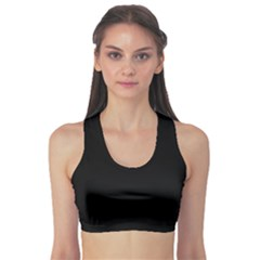 Black Gothic Sports Bra by Costasonlineshop