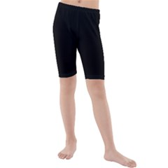 Black Gothic Kid s Mid Length Swim Shorts by Costasonlineshop