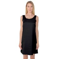 Black Gothic Sleeveless Satin Nightdresses by Costasonlineshop