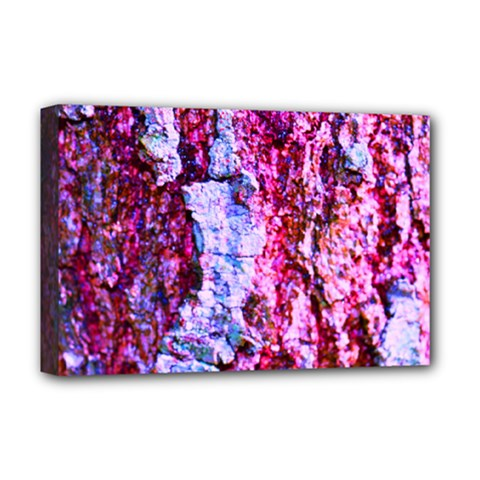 Purple Tree Bark Deluxe Canvas 18  X 12   by timelessartoncanvas